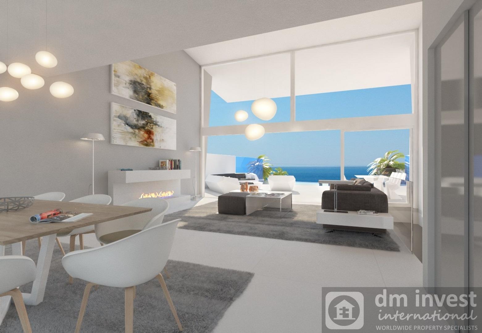 Villa in loft stijl met mezzanine dminvest
