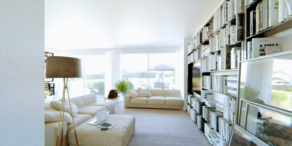 modern 2 slaapkamer appartement in mijas